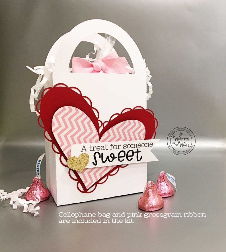 Kit Treat Box A Treat for Someone Sweet/Friend Gifts/ Hearts image 0