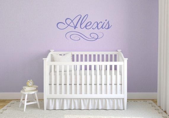 Mädchen Namen Wandtattoos, Baby Kinderzimmer Dekor, Baby Wandtattoos,  Wandtattoos Kinderzimmer, personalisierte Wandtattoo, benutzerdefinierte  Namen ...