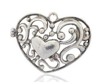 Heart Pendant - Magnetic - Sold Individually