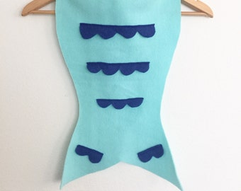 Aqua Mermaid Tail, Halloween Costume, Dress Up Mermaid