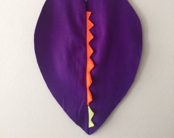 Purple Dragon Cape, Halloween Costume or Dress Up Dinosaur Cape