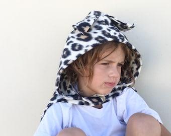 Leopard Cape, Halloween Costume or Dress Up Cape, Kids Halloween Costume
