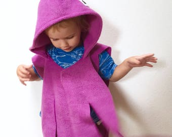 Toddler Octopus Cape, Halloween Costume or Dress Up Cape, 6 Colors Available