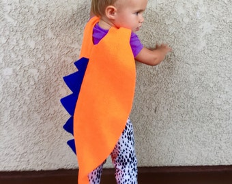 Toddler Dinosaur Cape, Little Kids Halloween Costume, Toddler Costume