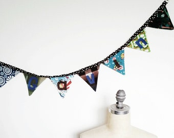 Custom Banner, Personalized Fabric Banner, Made to Order