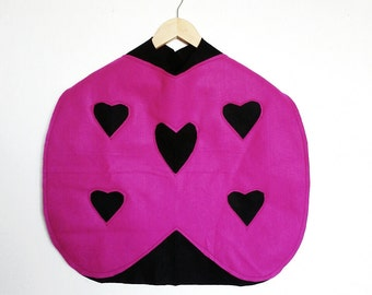 Lovebug Cape, Halloween Costume or Dress Up Cape