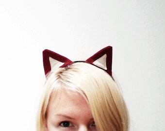 Red Fox Headband