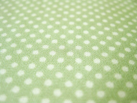 Letter Stitch Set Floral /& Dots Light Green 100/% cotton fabric by the yard