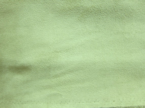 Faux Suede Suedette Fabric Material STRETCHY CREAM