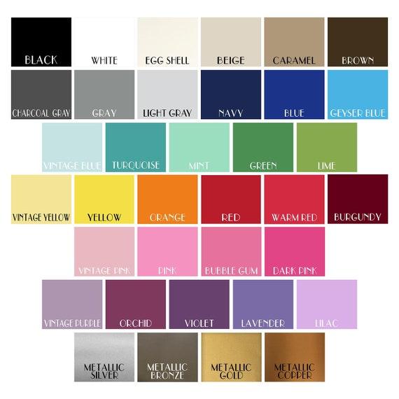 You Choose 2 Oracal 631 Vinyl Color Samples Etsy