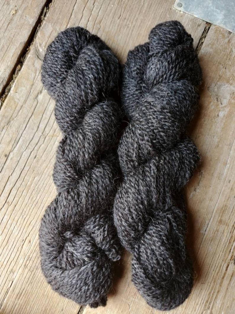 Shetland Black Yarn