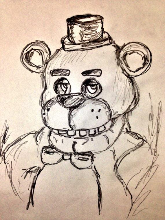 Items similar to Five Nights At Freddy's -Freddy Fazbear
