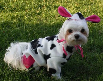 dog costume halloween costume for small dog halloween party costume for dog pet costume animal costume cow