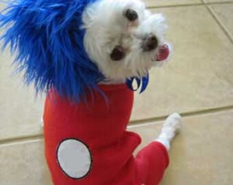 dog costume halloween costume for small dog pet costume animal costume halloween party costume troll personalized