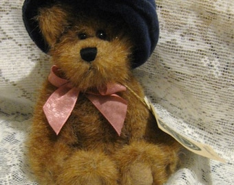 boyds bear carly bearsworth brown bear with hat the archive collection