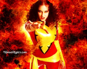 Dark Phoenix X Men Cosplay Costume