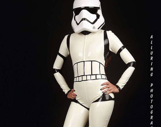 Featured listing image: Storm Trooper Catsuit
