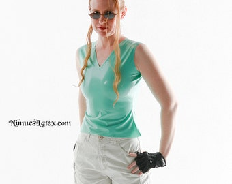 V-Neck Top:  Makes a great Lara Croft Costume!