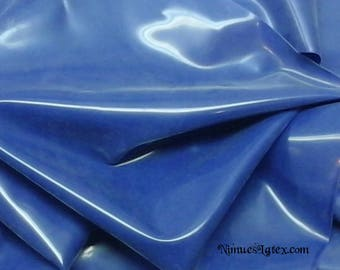 ROYAL BLUE Latex Sheeting, .40mm gauge, end of roll piece 14 x 36 inches plus extra