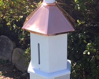Butterfly House Extra Large Caps Over Any 4 x 4 Copper White