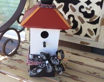 Song Bird House, Birdhouses Red Bird houses