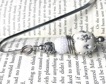 Silver Celtic Bookmark.