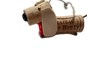 Basset Hound, cork basset hound, basset hound pet ornament