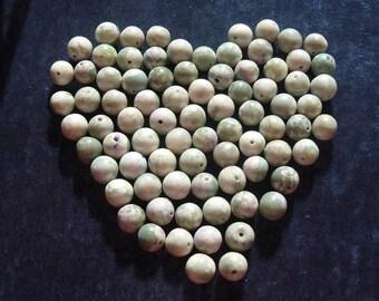 2 Full Strands of 10mm Natural China Jade (219A)