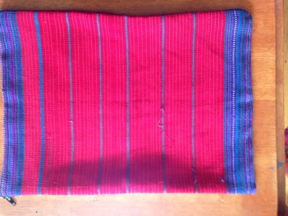 Vintage Guatemalan laptop bag