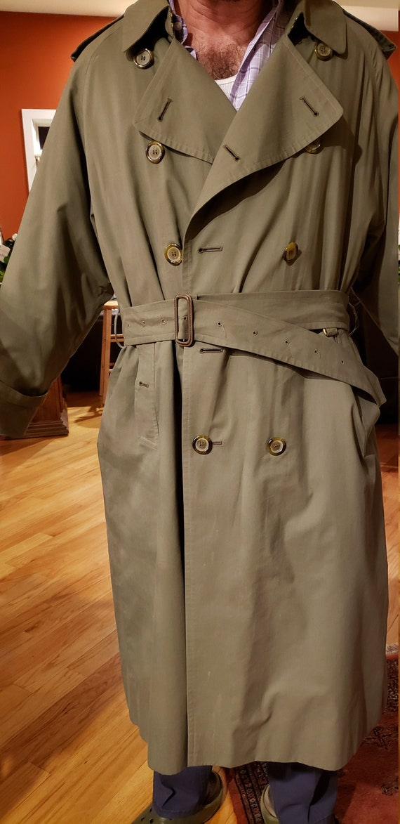 Burberry war Trench Coat double breasted raincoat