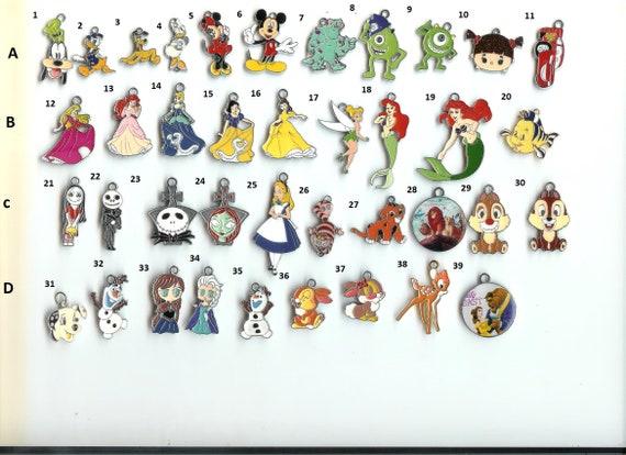 Tinkerbell w// ANY NAME #1 Custom Italian Charm Disney