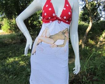 The Cars Candy-O t shirt bikini dress