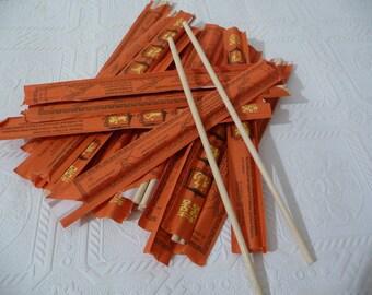 Chopsticks, Bamboo Chopsticks, Wooddn Chopsticks, Craft Supplies, Twenty Chopsticks, Packages, Unique Supplies, Art, Wood Utensils, Oriental