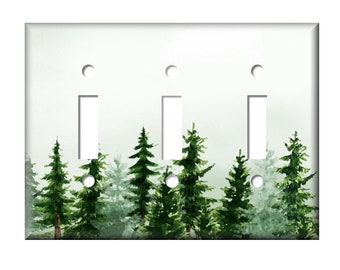 Forest Switch Plate Etsy