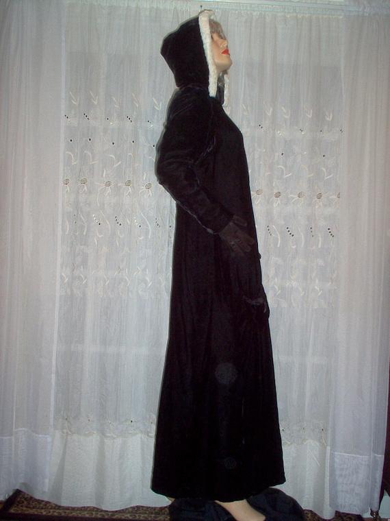 FREE Shipping-Gorgeous Vintage Womens 1930s Black… - image 2