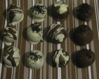 1 dozen Oreo balls truffles party favors shipped with 2 ice packs