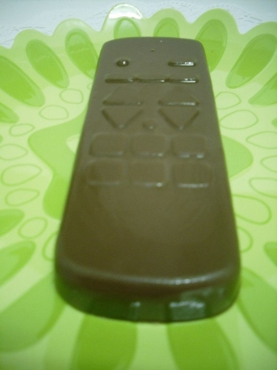 Solid Chocolate Television remote Control