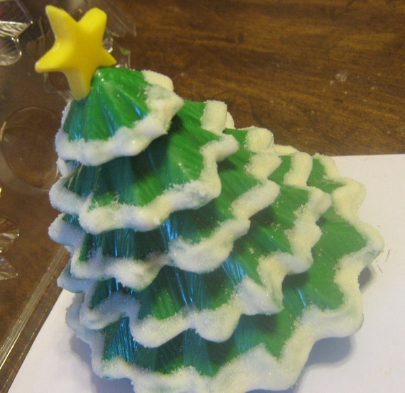 Solid Chocolate Christmas Tree