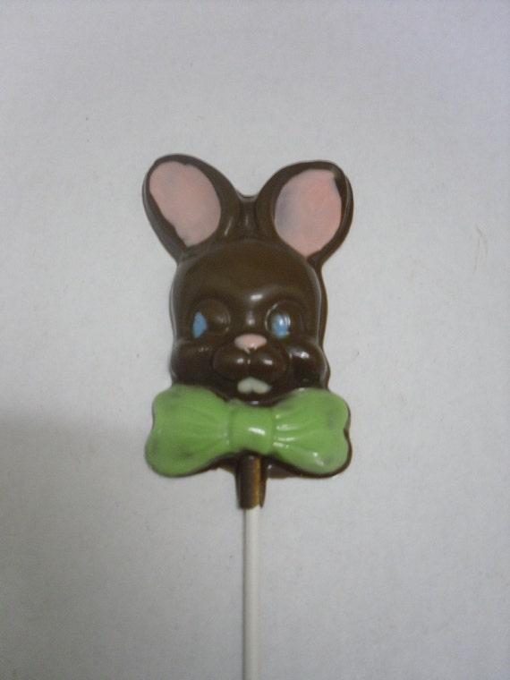 One dozen Easter Bunny Lollipops
