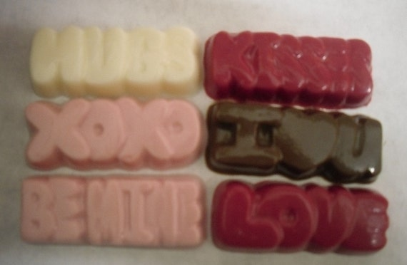 6 Different ways to say I Love You in chocolate