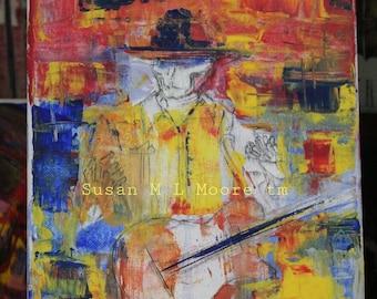 The Spine, Steam Powered Giraffe, guitar,music, David Bennett, mid century modern, abstract Fan Art