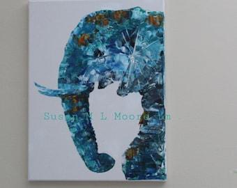 Elephant, Glass Ellie, wild elephant, save elephants