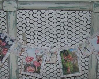 Fairy Banner Fairy Garland Summer Banner Garland Vintage Style