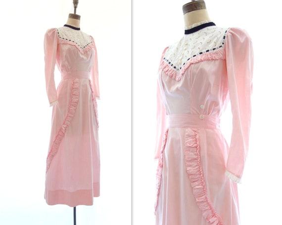 Edwardian Dress 1910s Dress 2 Piece Dress Edwardia