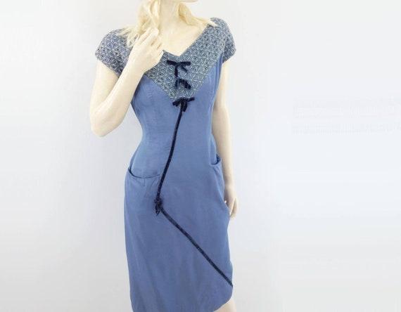 Vintage 60s dress  1960s dress  wiggle dress  LBD  cocktail formal dress  day dress  party dress  2427