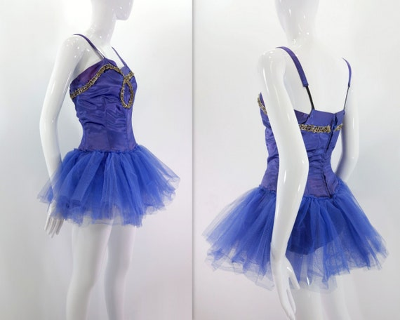 Vintage Dance Dress Ballet Costume Tulle Dance Dre