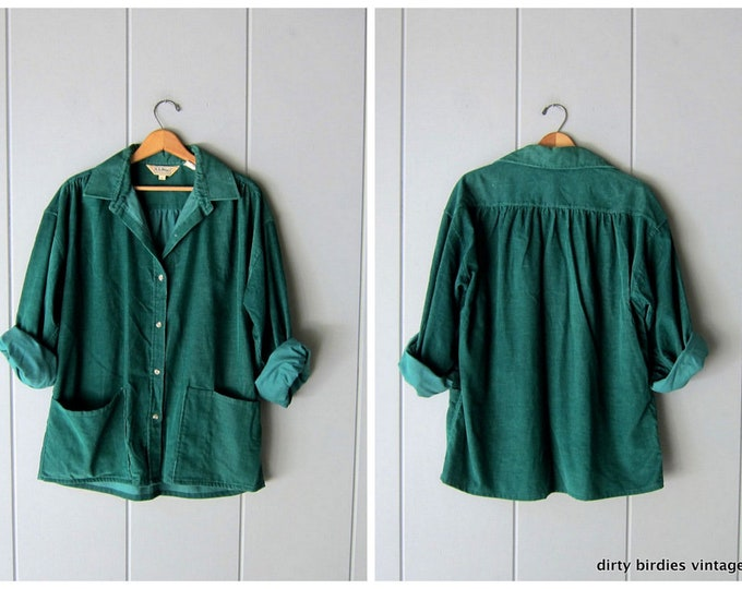LL Bean Corduroy Shirt M/L
