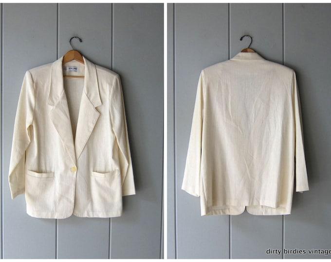 Classic White Blazer - large