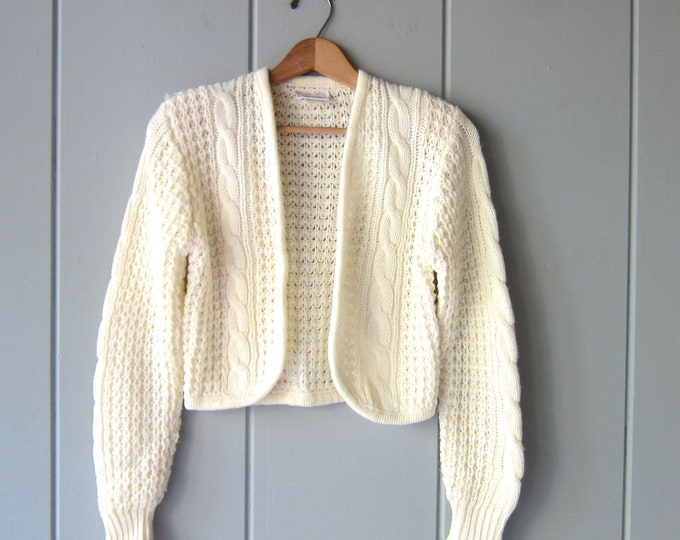 Open Knit Country Cardigan