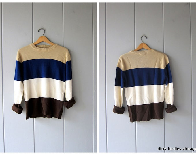 Bold Striped 70s Sweater
